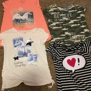Girls Justice shirts